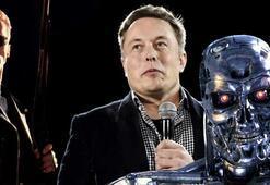 Elon Musktan robotların geleceğiyle ilgili ürkütücü sözler Birkaç yıl içinde...