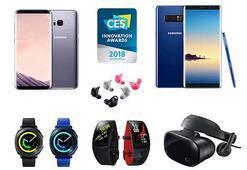 Samsung, CES 2018 İnovasyon Ödüllerinde 36 ödül kazandı