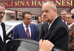 Genelkurmay eski Başkanı İlker Başbuğ, Baykalı ziyaret etti