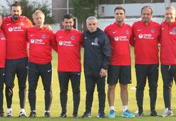 Trabzonspor, Rıza Çalımbay yönetiminde çalıştı