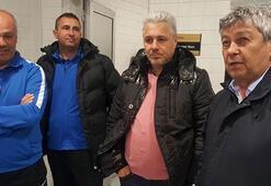 Lucescu, Kayserispor soyunma odasına indi