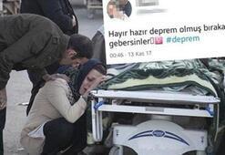 Iraktaki depremin ardından ırkçı paylaşım yapan hastane çalışanı açığa alındı