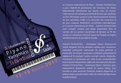 3. İstanbul OrchestraSion - Uluslararası Piyano Yarışması