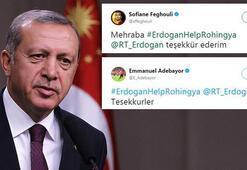 Feghouli ve Adebayordan Cumhurbaşkanı Erdoğana Arakan teşekkürü