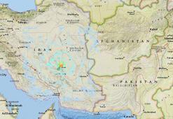 Son dakika... İranda 6 büyüklüğünde deprem