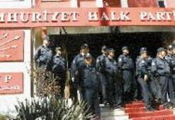 CHP polis kordonunda