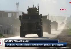 TSK, İdlibde ikinci devriye görevini tamamladı