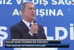 Hulusi Akar İstanbulda konuştu