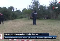 Antalyada dehşet olay