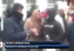 Taksim'de dilenci operasyonu
