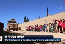 İlk devriye tamam Türk askerine büyük ilgi