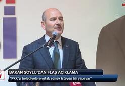 Soylu: PKKyı belediyelere ortak etmek isteyen bir yapı var