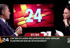 CHP'nin oylarını böldüğünüze dair yapılan eleştiriler için ne diyeceksiniz