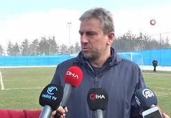 Hamza Hamzaoğlu Erzurumda ilk antrenmanına çıktı