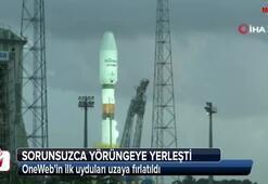 OneWebin ilk uyduları uzaya fırlatıldı