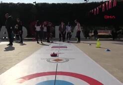Adanada floor curling heyecanı