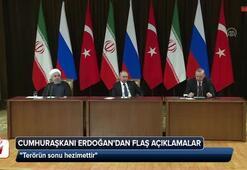 Erdoğan, Putin ve Ruhaniden ortak açıklama