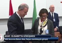 Bakan Akar, Elisabetta Trenta ile görüştü