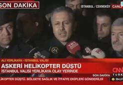 İstanbulda askeri helikopter düştü 4 asker şehit oldu