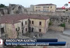 Anadolunun Alkatrazı Tarihi Sinop Cezaevi havadan görüntülendi