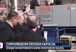 Cumhurbaşkanı Erdoğan Kartalda