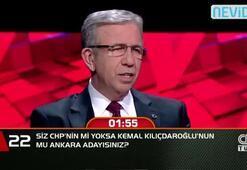 Siz Cumhuriyet Halk Partisi'nin mi, yoksa Kemal Kılıçdaroğlu'nun mu Ankara Adayısınız