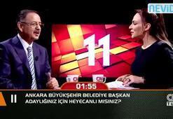 Ankara Büyükşehir Belediye Başkan adaylığınız için heyecanlı mısınız