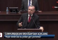 Cumhurbaşkanı Erdoğan AK Parti Meclis Grup Toplantısında konuştu