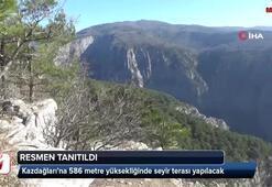 Kazdağlarına 586 metre yüksekliğinde seyir terası yapılacak