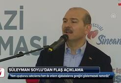 Süleyman Soyludan flaş açıklama