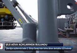 2. Dünya Savaşından kalma denizaltı bulundu