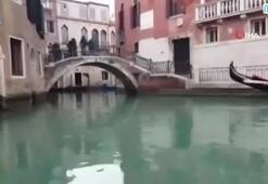 Venedik gondollarında Tokat türküsü