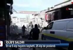 Esad rejimi İdlib'e saldırdı: 5 ölü, 25 yaralı