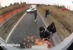 Elektrikli testere ile zırhlı araç soygunu