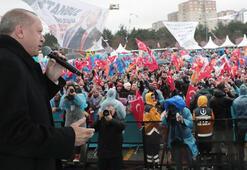 Cumhurbaşkanı Erdoğan: 5 yıllık fetret dönemine son vereceğinize inanıyorum