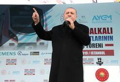 Cumhurbaşkanı Erdoğan müjdeyi verdi Net 1 saat 10 dakika...
