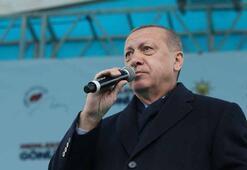 Cumhurbaşkanı Erdoğandan Hakkaride önemli açıklamalar