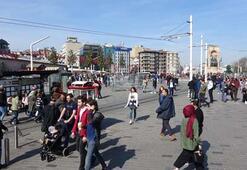 Bugün İstanbul Kimse bu fırsatı kaçırmak istemedi...