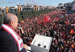 Cumhurbaşkanı Erdoğan: Kiranızı veriyoruz, vereceğiz Yeter ki bu evler boşalsın