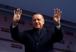 Cumhurbaşkanı Erdoğan, Size iki müjde vermek istiyorum dedi ve peş peşe sıraladı