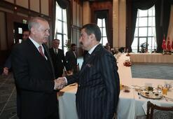 Cumhurbaşkanı Erdoğan, kanaat önderleri ile görüştü