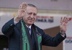 Cumhurbaşkanı Erdoğan: Resimleri var ama altında CHP logosu yok