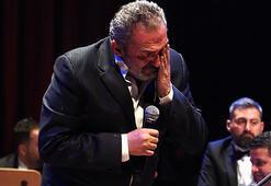 Yavuz Bingöl gözyaşlarına hakim olamadı