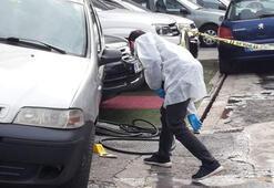 Oto Galericiler Sitesi'nde silahlı kavga Karşısında gördü kurşun yağdırdı