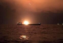 Son dakika | Kerç Boğazında facia Yanan gemilerde Türkler de bulunuyordu...