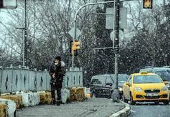 İstanbulda kar yağışı Gece saatlerinde de etkili olacak