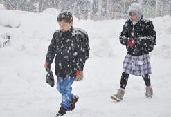 Okullarda kar tatili Hangi illerde okullar tatil