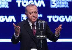 Cumhurbaşkanı Erdoğandan gençlere önemli tavsiyeler: Bana da hocam öyle derdi...