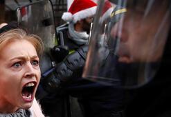 Son dakika... Sarı yelekliler protestosunda ölüm