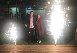 Ekin Uzunlar konserinde evlilik teklifi